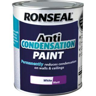 Ronseal Anti Condensation Paint White Matt 750ml
