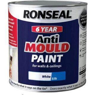 Ronseal Anti Mould Paint White Silk 750ml