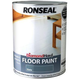 Ronseal Diamond Hard Floor Paint Slate 5L