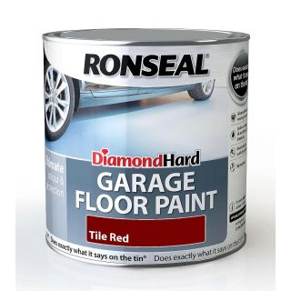 Ronseal Diamond Hard Floor Paint - Tile Red 2.5L