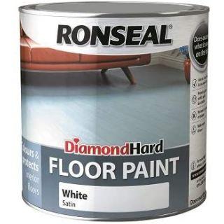 Ronseal Diamond Hard Floor Paint - White 2.5L