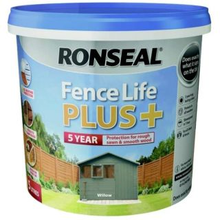 Ronseal Fence Life Plus Paint - Willow 5L