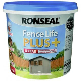 RONSEAL Fence Life Plus+ Slate 5L
