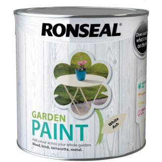 Ronseal Garden Paint White Ash 2.5L
