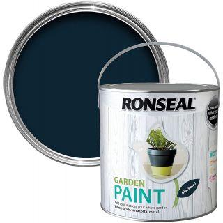 Ronseal Garden Paint Black Bird 250ml