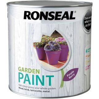 Ronseal Garden Paint Purple Berry 2.5L