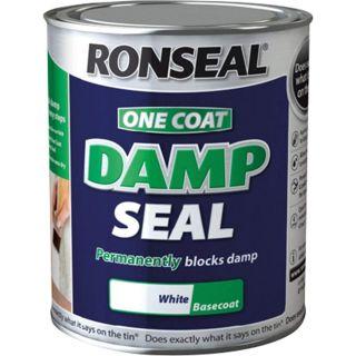 Ronseal One Coat Damp Seal - White 250ml