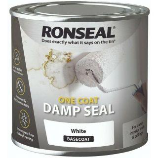 Ronseal One Coat Damp Seal - 2.5L White