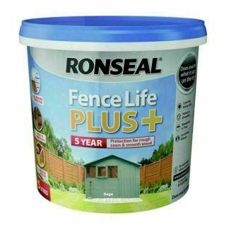 RONSEAL Fence Life Plus Paint - Sage 5L`