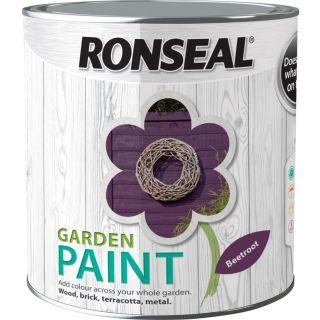 Ronseal Garden Paint Beetroot 750ml