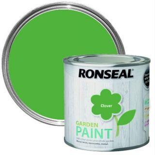 Ronseal Garden Paint - Clover 750Ml