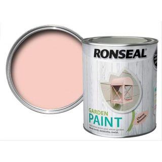 Ronseal Garden Paint - Cherry Blossom 750Ml