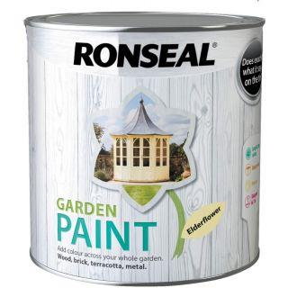 Ronseal Garden Paint Elderflower 2.5L