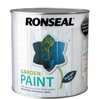 Ronseal Garden Paint Midnight Blue 2.5L