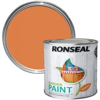 Ronseal Garden Paint - Sunburst 750Ml
