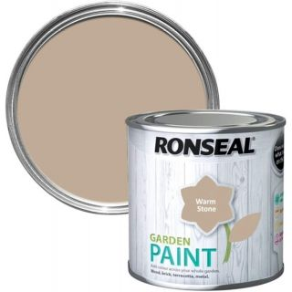 Ronseal Garden Paint - Warm Stone 750Ml