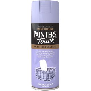 Rust-Oleum Painter`s Touch Multi Purpose Satin Spray Paint 400ML- French Lilac