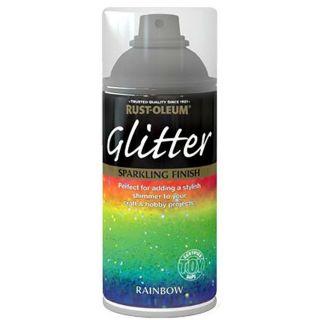 Rust-Oleum Sparkly Rainbow Glitter Spray Paint 150ml