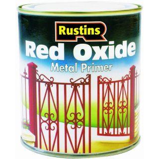 Rustins Red Oxide Metal Primer 500Ml