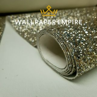 Champagne Gold Glitter 54CM Wall covering
