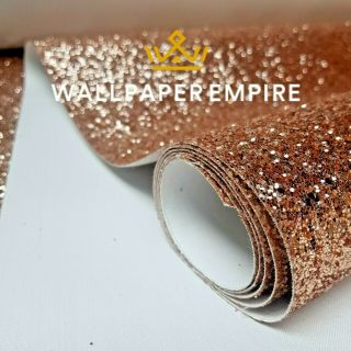 Rose Gold Glitter 54CM Wall covering