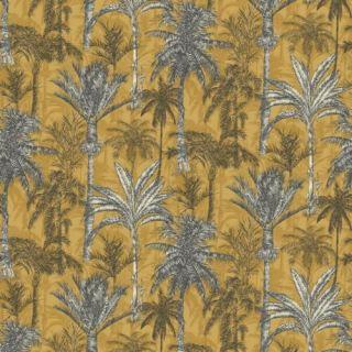 Grandeco Life Hawaiian Palm Ochre 198600