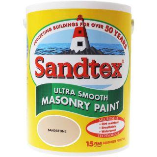 Sandtex Ultra Smooth Masonry Sandstone Paint 5L