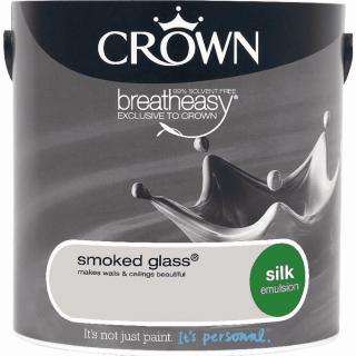 CROWN SILK EMULSION - SMOKED GLASS 2.5L