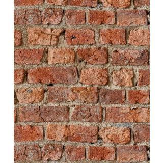 ARTHOUSE REALISTIC URBAN RED RUSTIC OLD BRICK WALL QUALITY WALLPAPER 696600