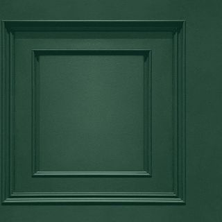 Oliana Wood Panel Wallpaper Belgravia 8490 Green
