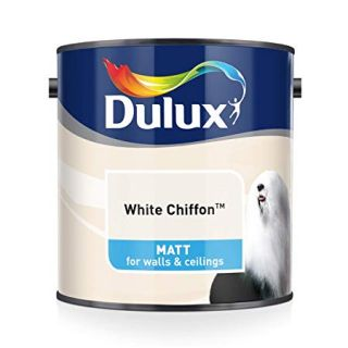 Dulux White Chiffon - Matt- 5L