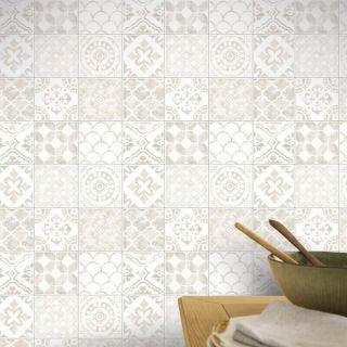 Arthouse Diamond Vinyl Glitter Shimmer Moroccan Tiles Wallpaper 2 Colours