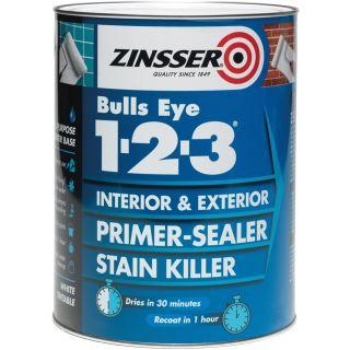 Zinsser 123 Bulls Eye Primer/Sealer Paint 500ml
