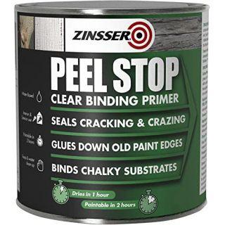 Zinsser Peel Stop Primer Paint Clear 2.5L