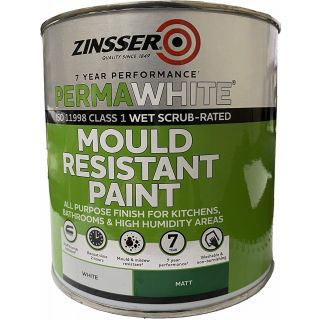 Zinsser Perma White Self-Priming Interior Paint Matt White 1L