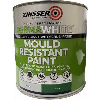 Zinsser Perma White Self-Priming Interior Paint Matt White 2.5L