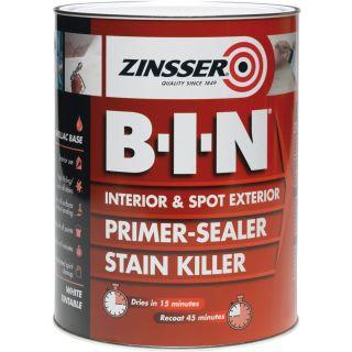 Zinsser B.I.N Primer/Sealer Stain Killer Paint 500ml