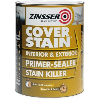 Zinsser Cover Stain Primer/Finish Paint 1L