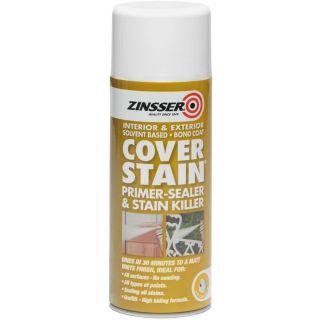 Zinsser Cover Stain Primer/Finish Aerosol 400ml