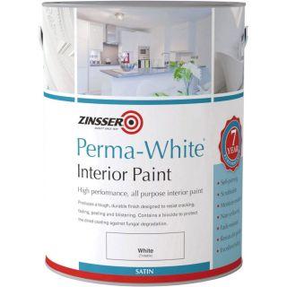 Zinsser Perma-White Interior Satin Paint 2.5L