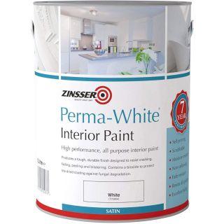 Zinsser Perma-White Interior Water-Based Satin 5L